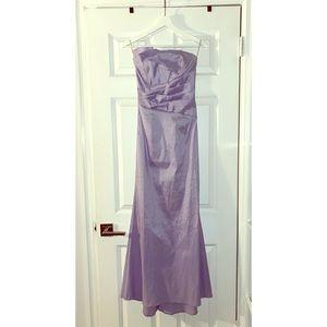Jessica McClintock satin/silk formal gown